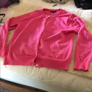 M/P Lands' End Pink Cardigan